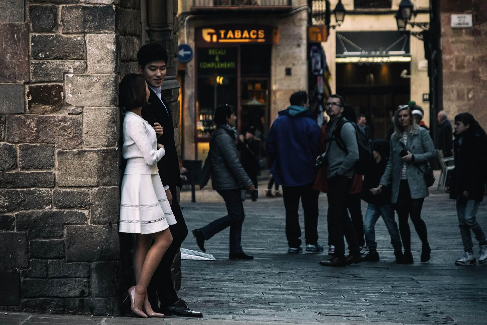 Hochzeitsshooting in Barcelona
